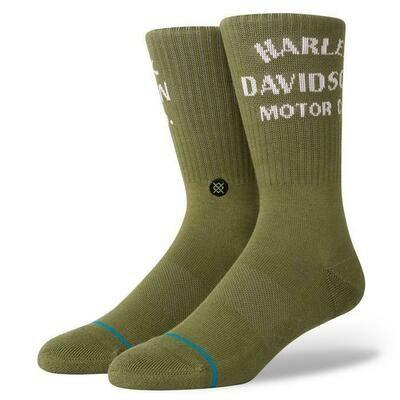 STANCE Socks Harley-Davidson Motor Olive