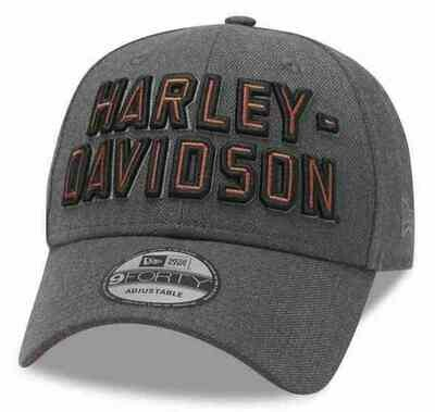 Men's Embroidered Graphic 9FORTY Baseball Cap, Gray