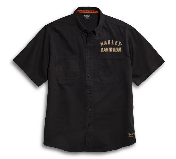 Shirt Men short sleeve #1 Woven