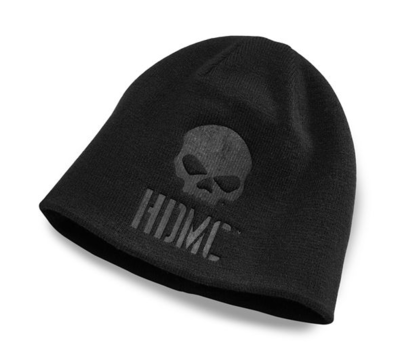 Hat Men Reversible Logo Knit