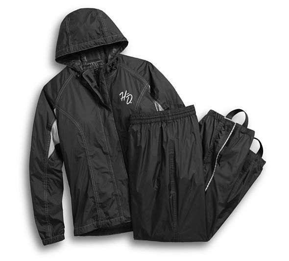 Reflective Rain Suit Women