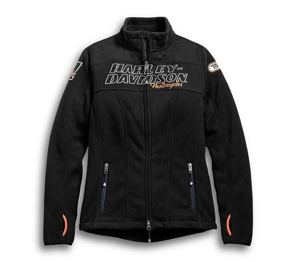 Fleece Women Jacket H-D Racing