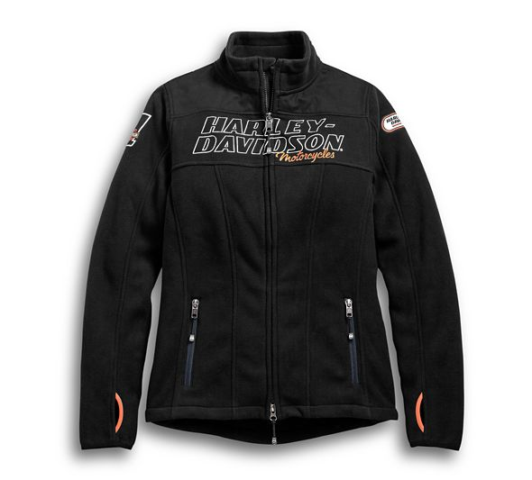 Fleece Women Jacket H-D Racing