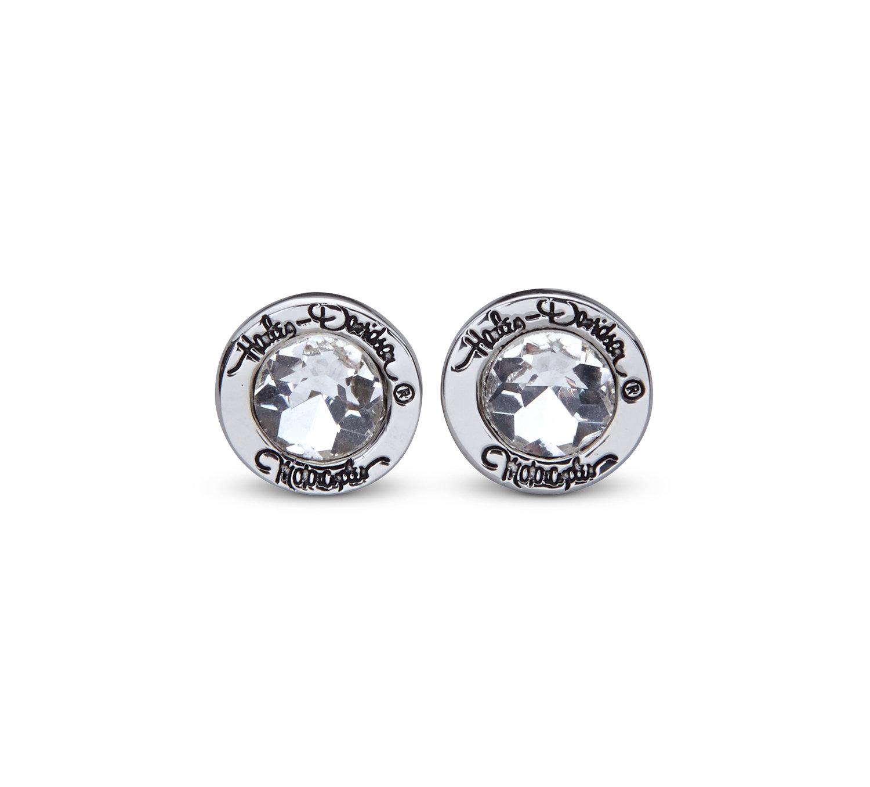 Rhinestone Stud Earrings Women