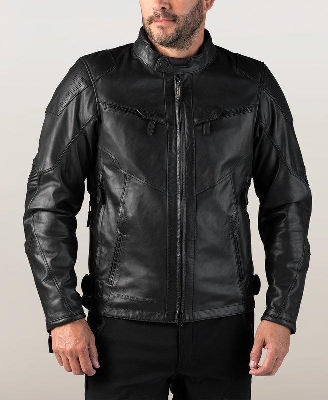 FXRG® Triple Vent System™ Waterproof Leather Riding Jacket Men