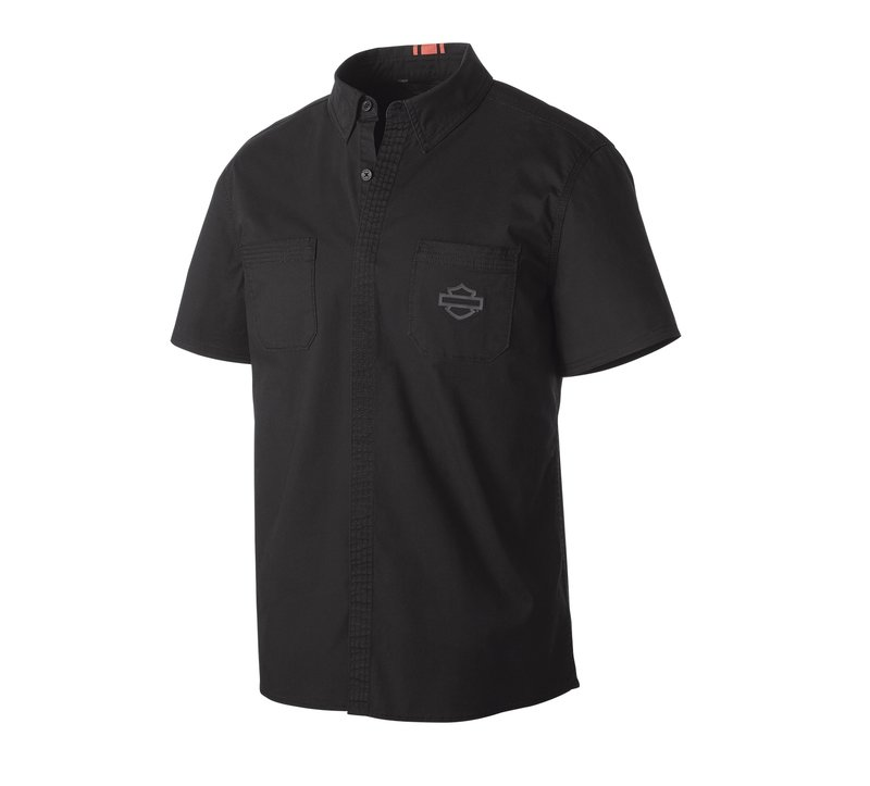 H-D® Moto Stretch Poplin Slim Fit Shirt Men