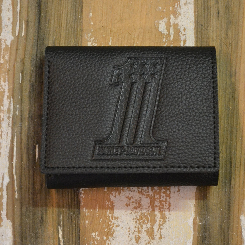 Wallet Men #1 Embossed Leather