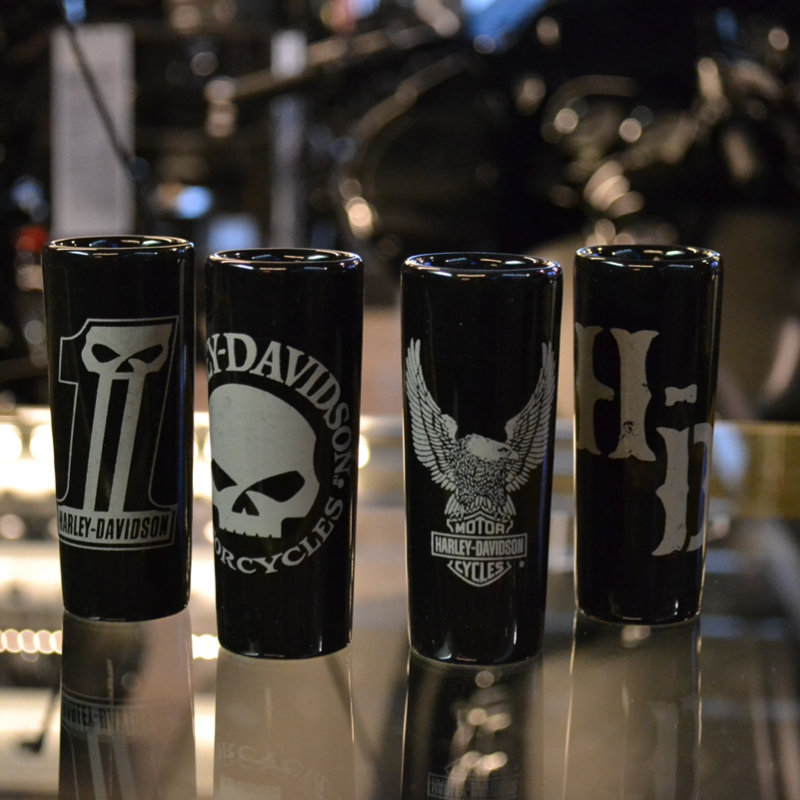Dark Custom Shot Glass Gift Set