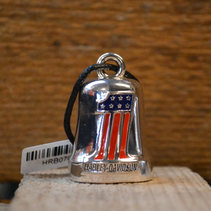 Harley-Davidson® Ride Bell - Red, White & Blue #1