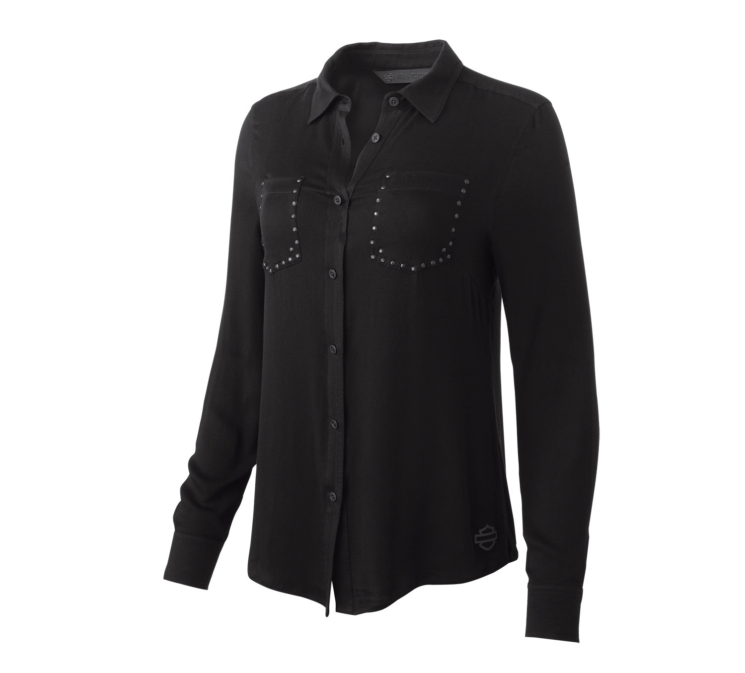 H-D® Moto Stretch Rayon Shirt Women