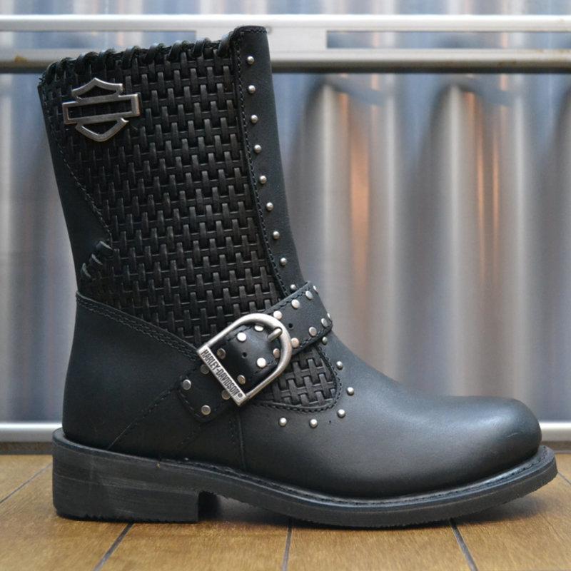 Boots Women Zipper Abbie Black Leather