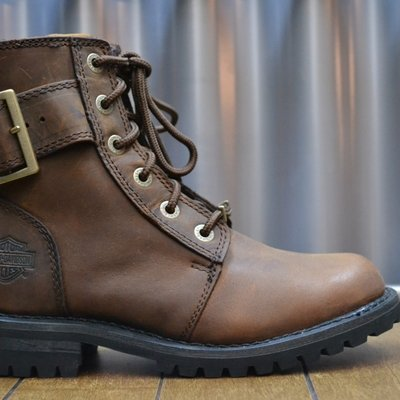 Boots Women Zipper Sylewood Brown Leather