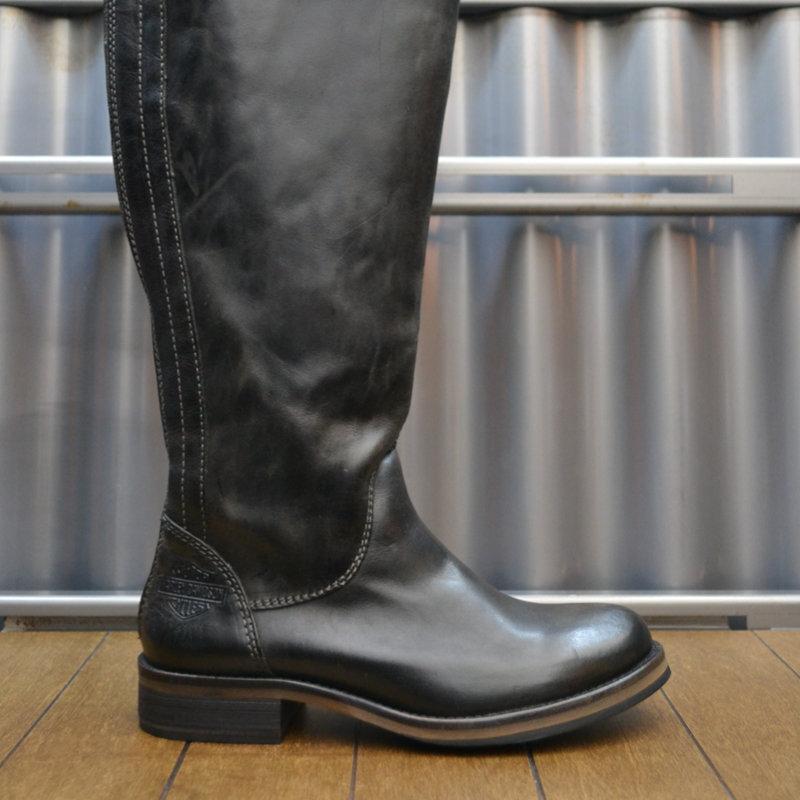 Boots Women Zipper Monique Dark Brown Leather