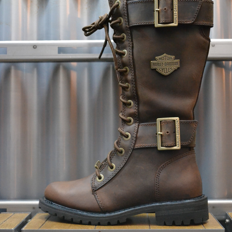 Boots Women Zipper Belhaven Brown Leather