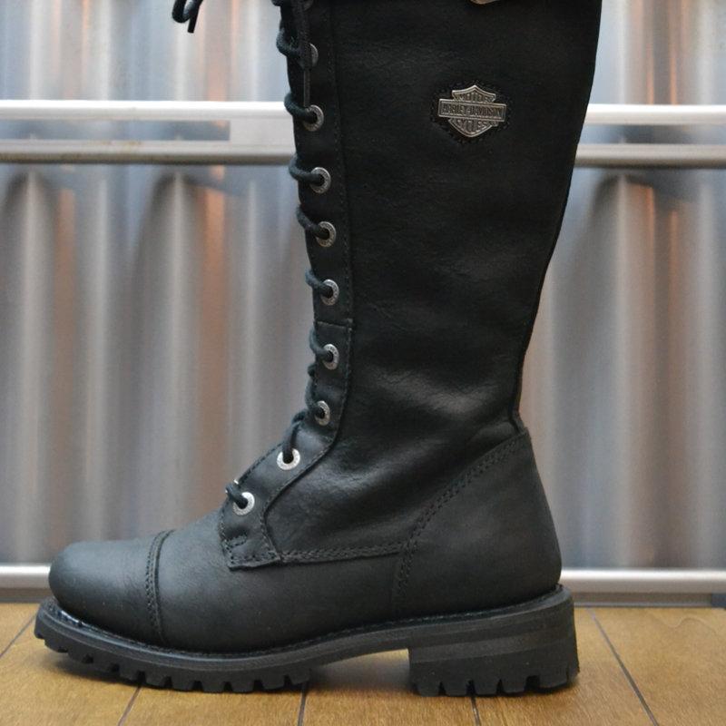 Boots Women Zipper Savannah Black Leather