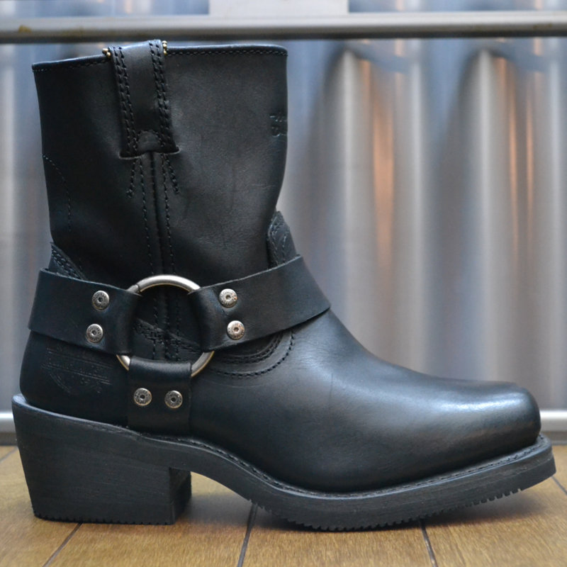 Boots Women Zipper El Paso Black Leather