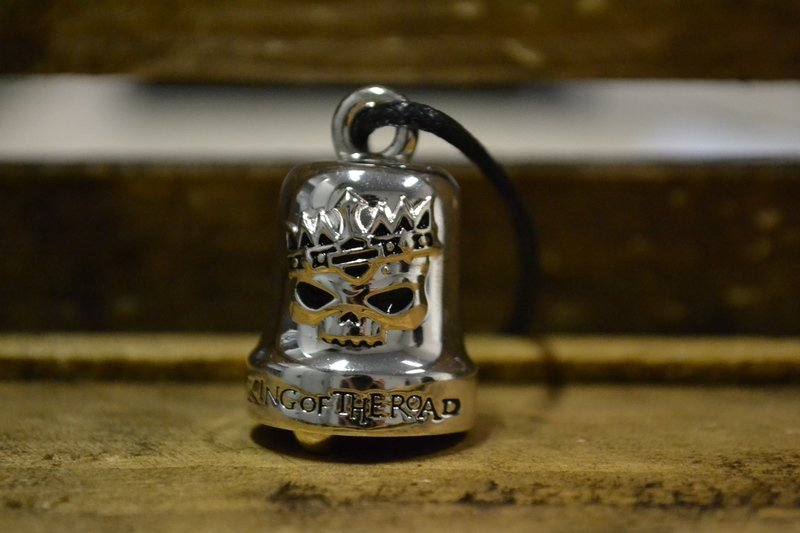 Harley-Davidson® Ride Bell Skull King of the Road
