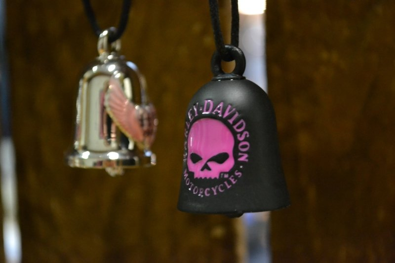 Ride Bell Harley-Davidson®  Pink Skull