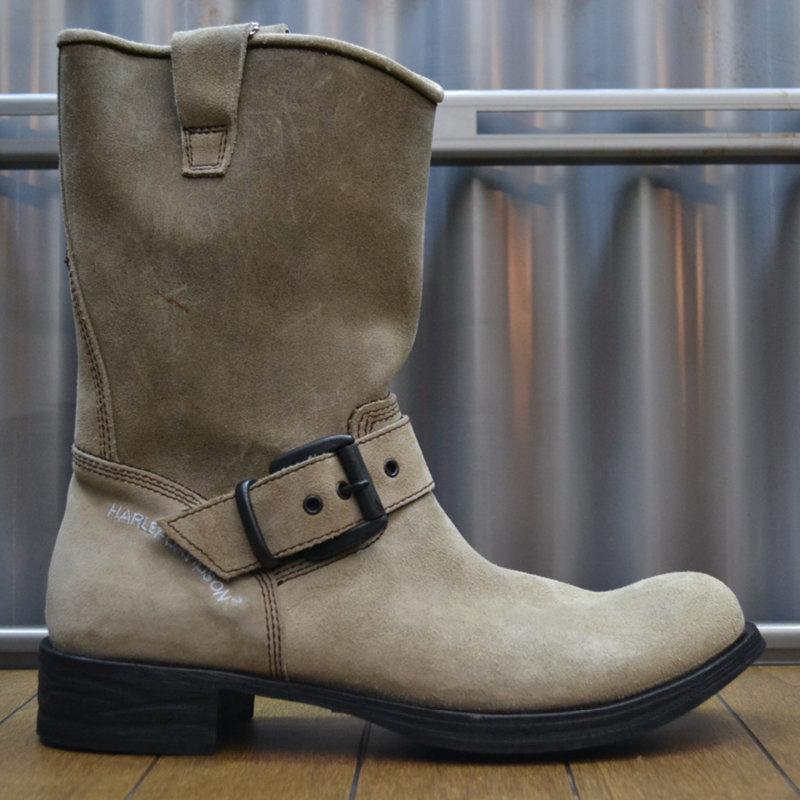 Boots Women Zipper Donegan Sand Suede