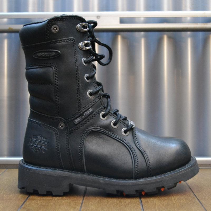 Boots Women Waterproof Zipper FXRG® Zadora Black Leather
