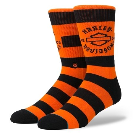 Stance Harley Socks Sprint Orange Men