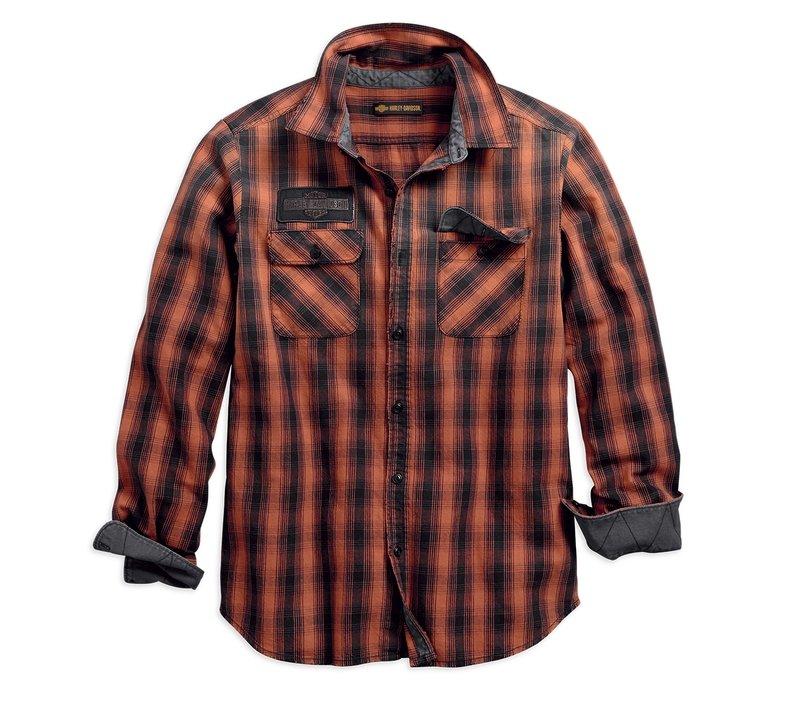 1903 Oak Leaf Plaid Slim Fit Shirt Men