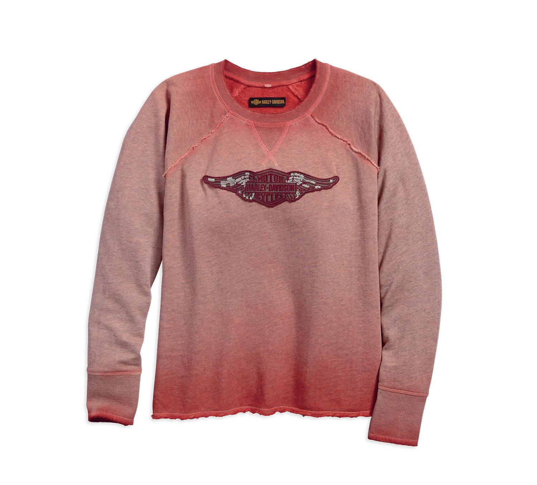 Sweatshirt Women 1903 Wing Logo Raglan Pullover