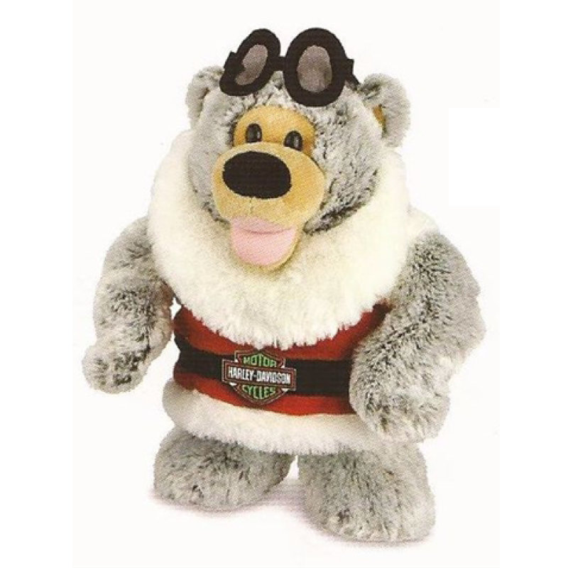 Harley-Davidson Holiday Rider Christmas Bear