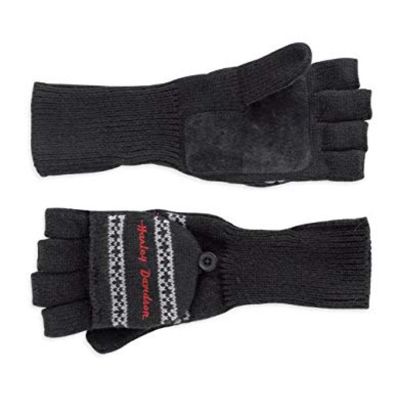 Gloves Women Fashion Convertible Mitten