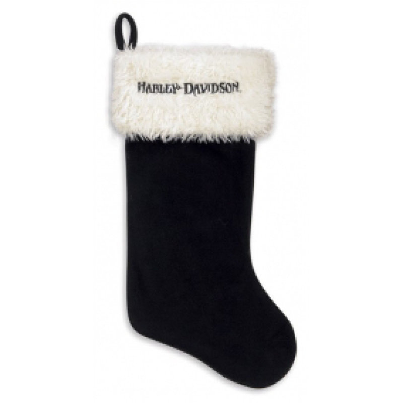 Black Santa Stocking