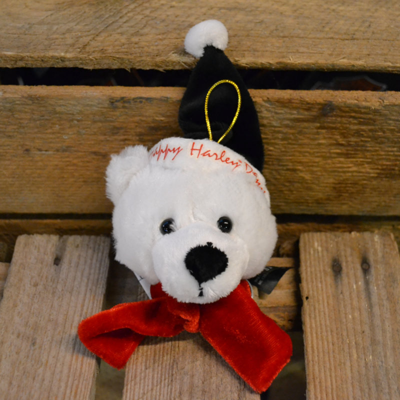 Santa Christmas Tree Decoration: Bear Holiday Rider Small