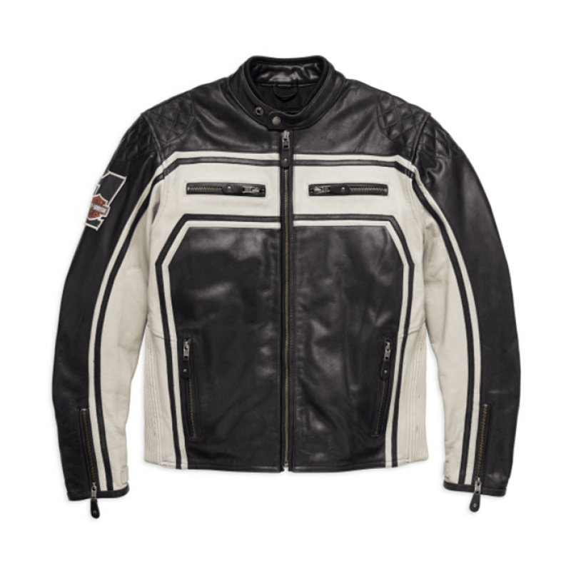 Jacket Men CE-approved Riding Leather Endurance
