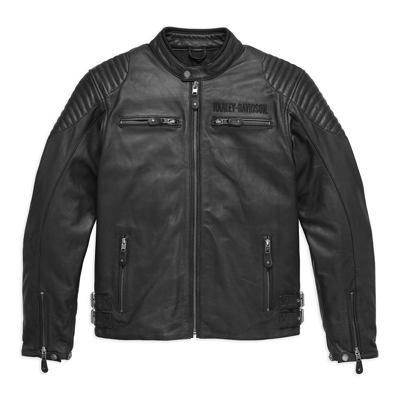 Jacket Men CE-approved Riding Leather Urban