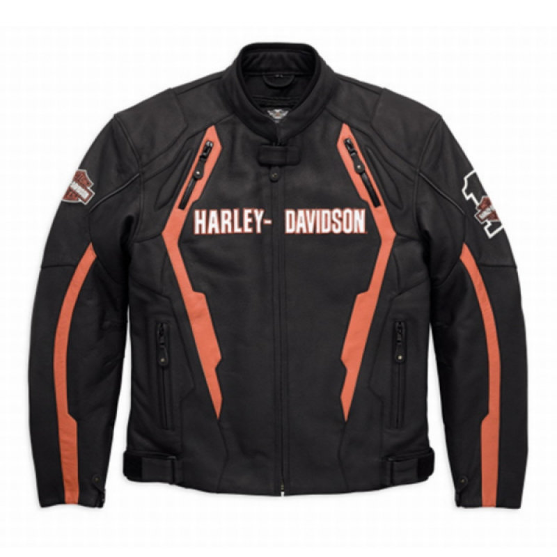 Jacket Men CE-approved Riding Leather Enthusiast