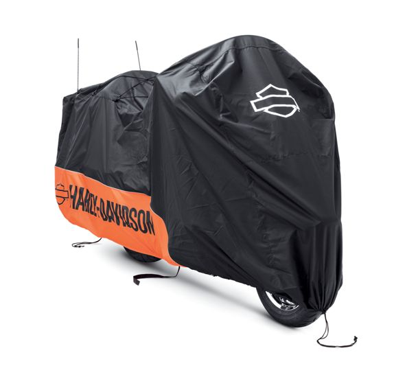 Indoor/Outdoor Motorcycle Cover for VRSC, Dyna and Softail