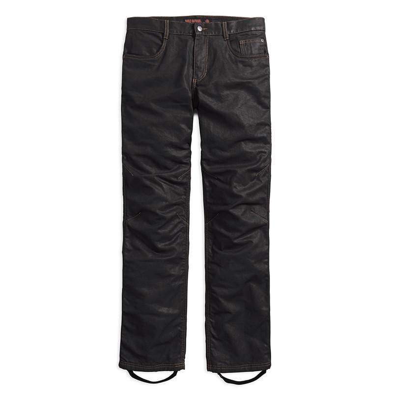 Waxed Denim Performance Riding Jeans Men