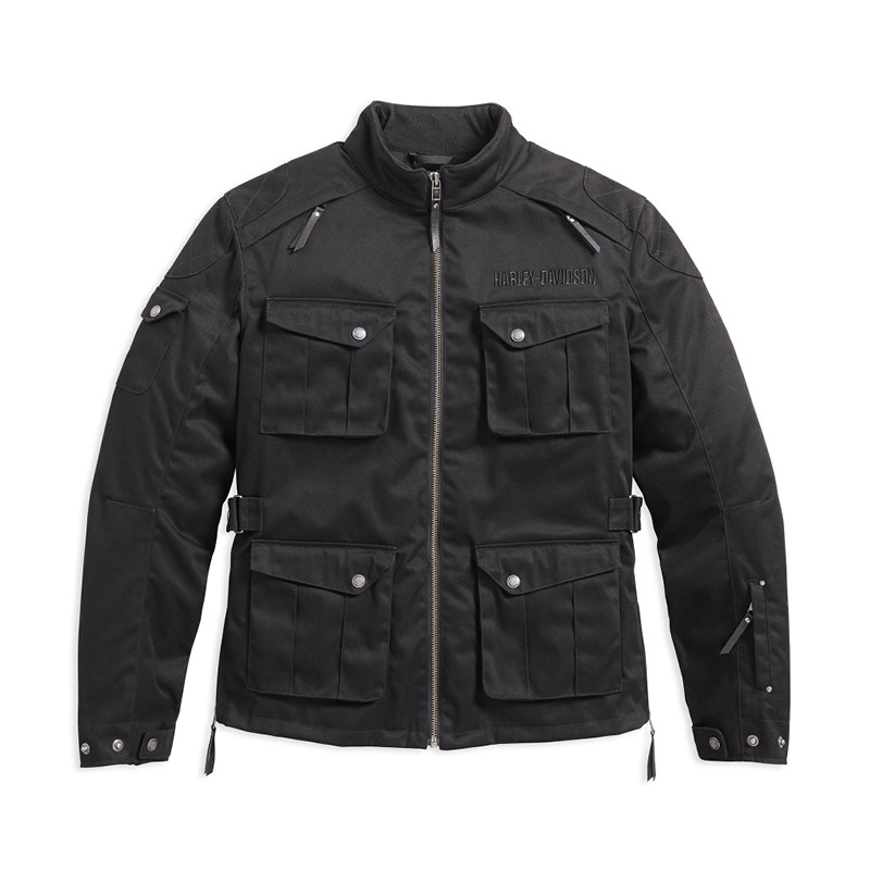 Messenger 3/4 Textile Riding Jacket Men