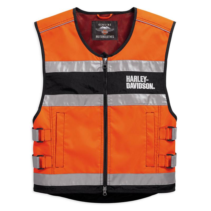 Vest Unisex Hi-Visibility CE-Certified Reflective