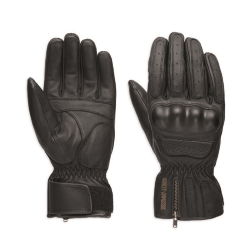 Gloves Men Blackout Leather