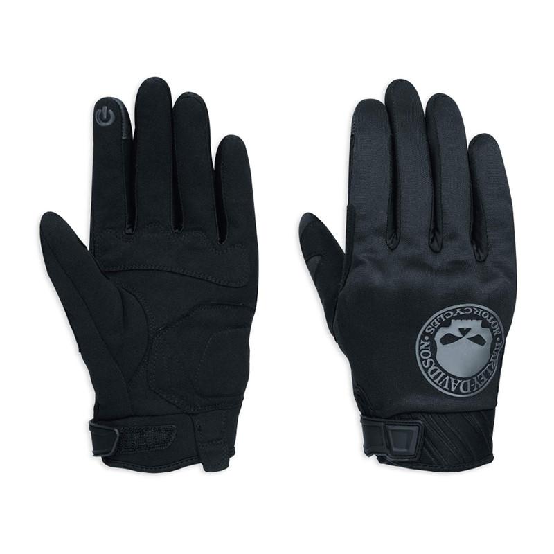 Skull Soft Shell Gloves Men