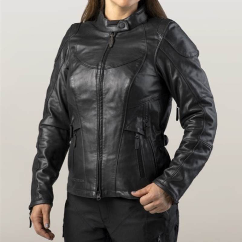 FXRG® Triple Vent System™ Waterproof Leather Riding Jacket Women