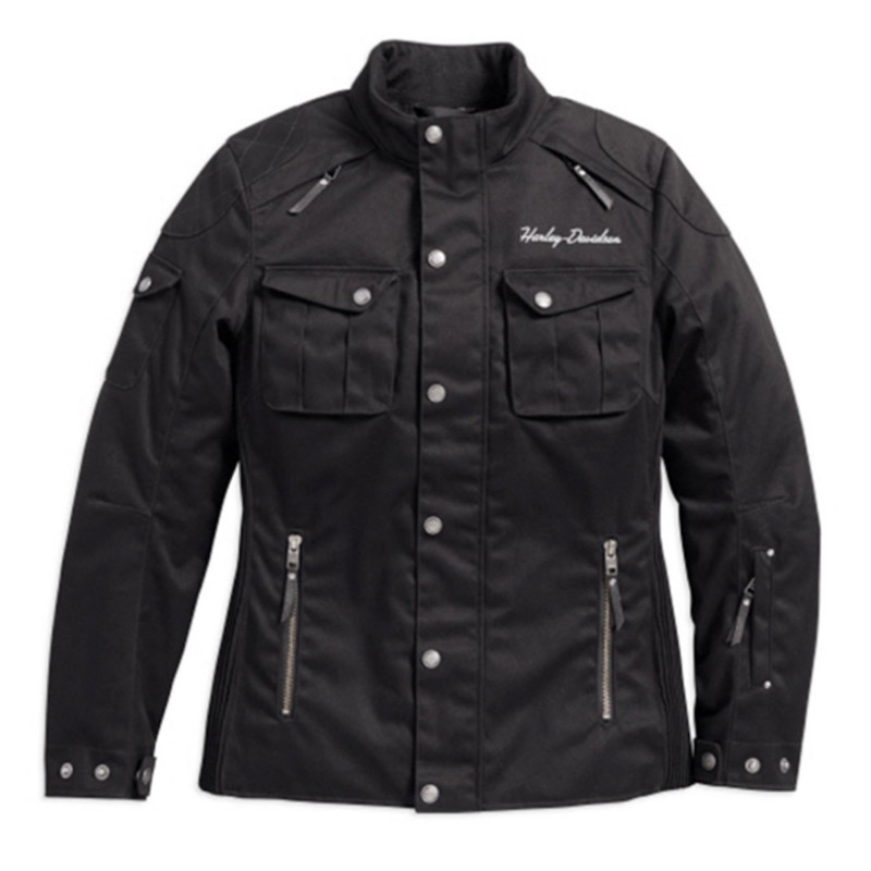 Jacket Women CE-approved Riding Textile Messenger 3/4
