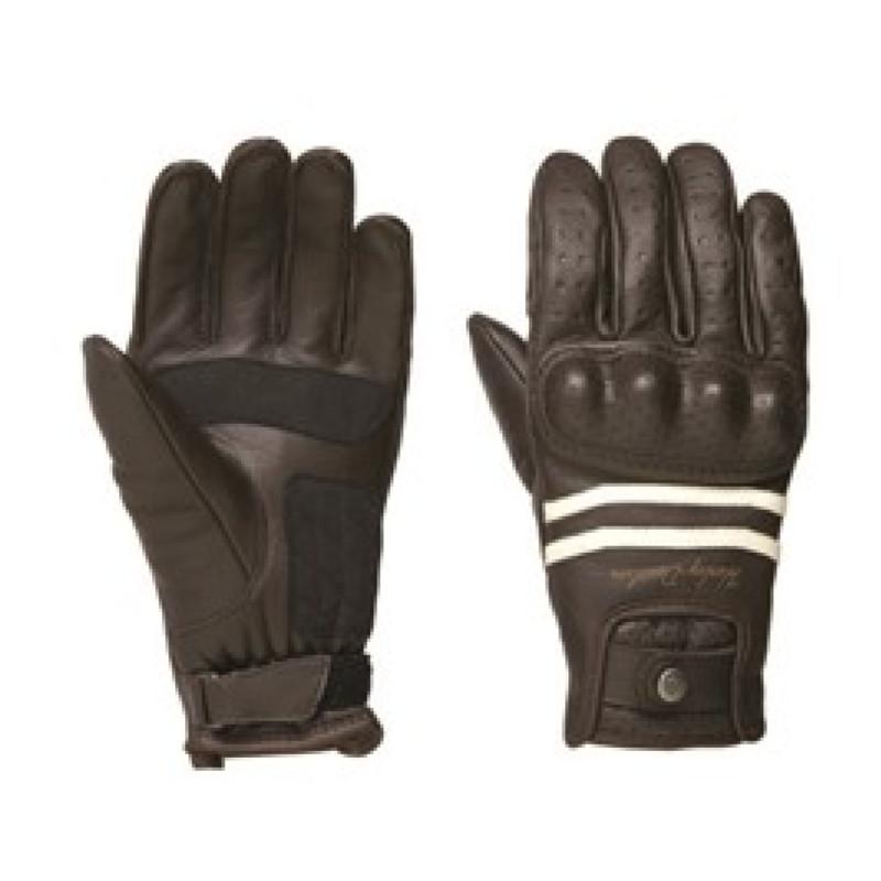 Ringle Full-Finger Leather Riding Gloves Women