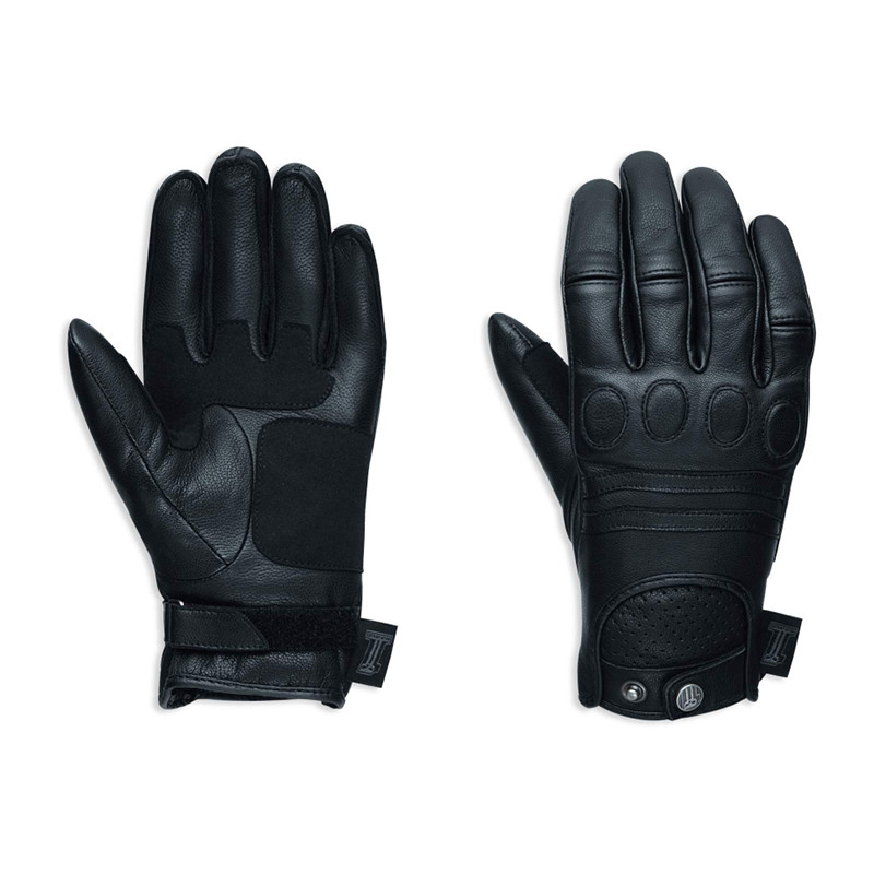 Gloves Women #1 Skull Leather Riding