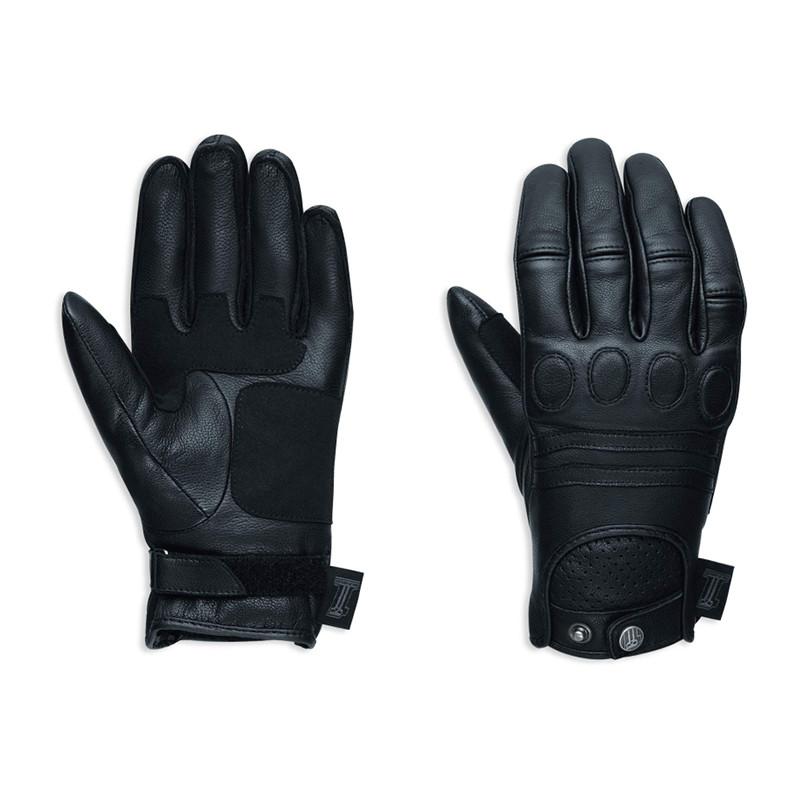 Gloves Women #1 Skull Leather Riding