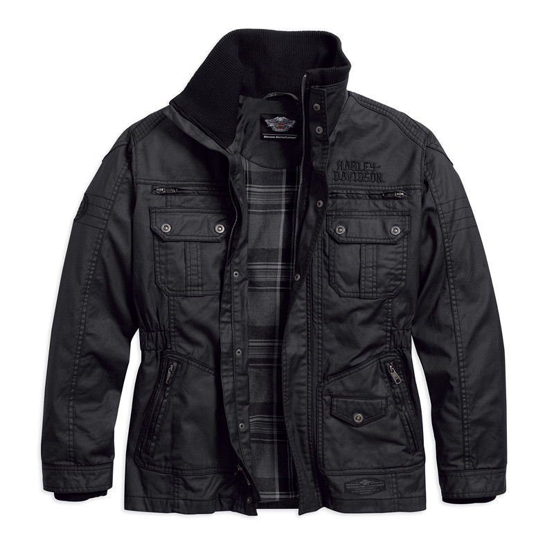 Out-Of-Reach Rugged Waxed Casual Jacket Men