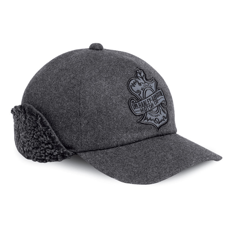 Oak Leaf Ear Flap Baseball Cap