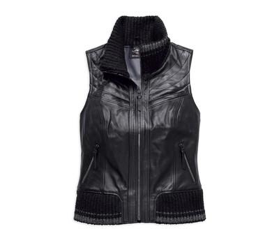 Vest Women Fawnridge Leather