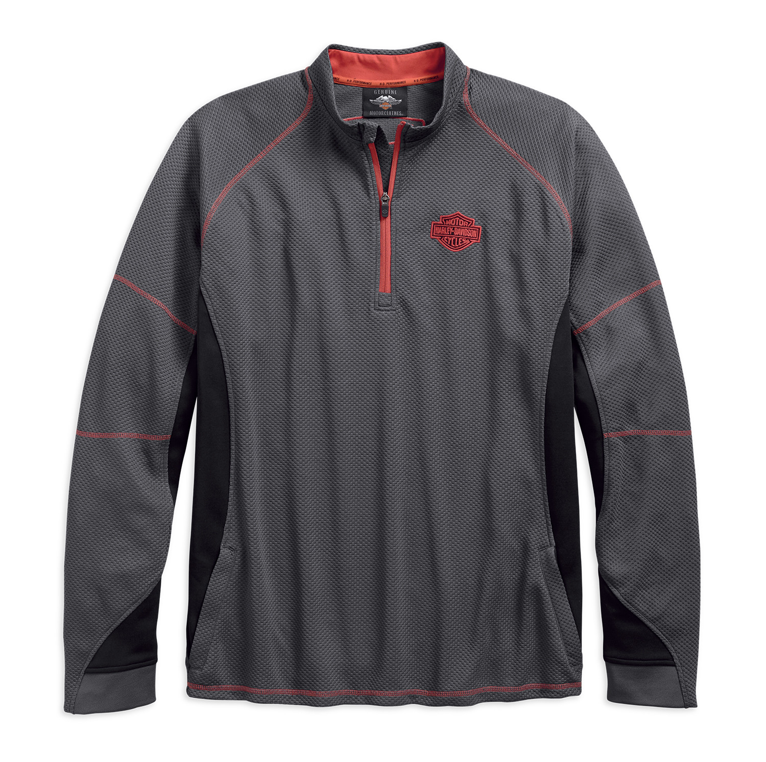 Pullover Men Performance Wicking