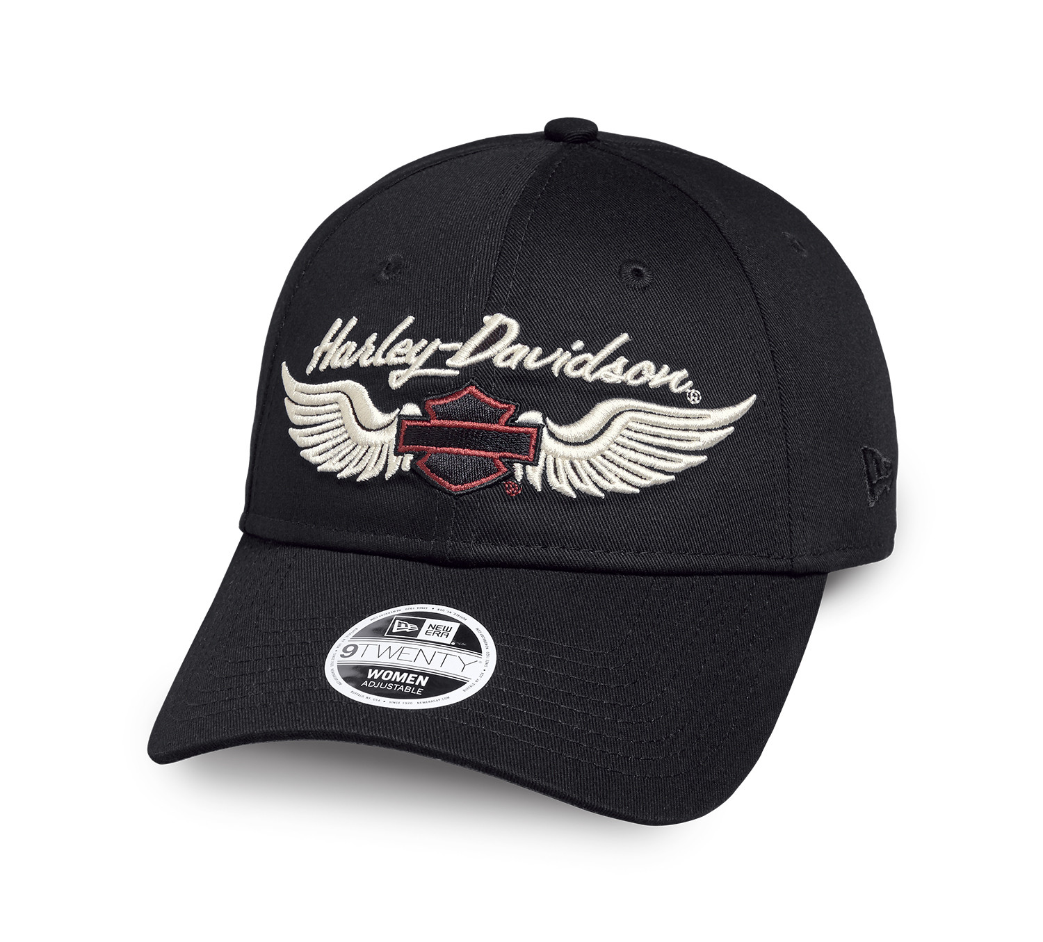 Embroidered Winged Logo Cap Women